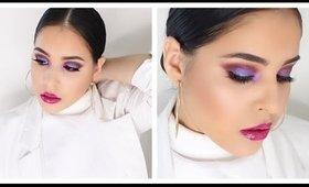 Trendy PURPLE SMOKEY EYE | New Years Eve Makeup Tutorial