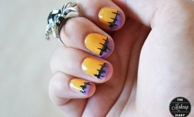How To. Simple Halloween Nails