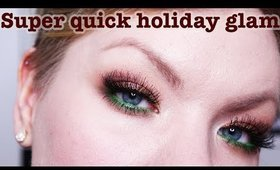 Quick & Simple Holiday Makeup Tutorial