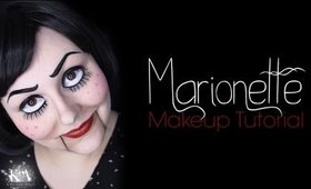 Marionette Halloween Makeup Tutorial - 31 Days of Halloween