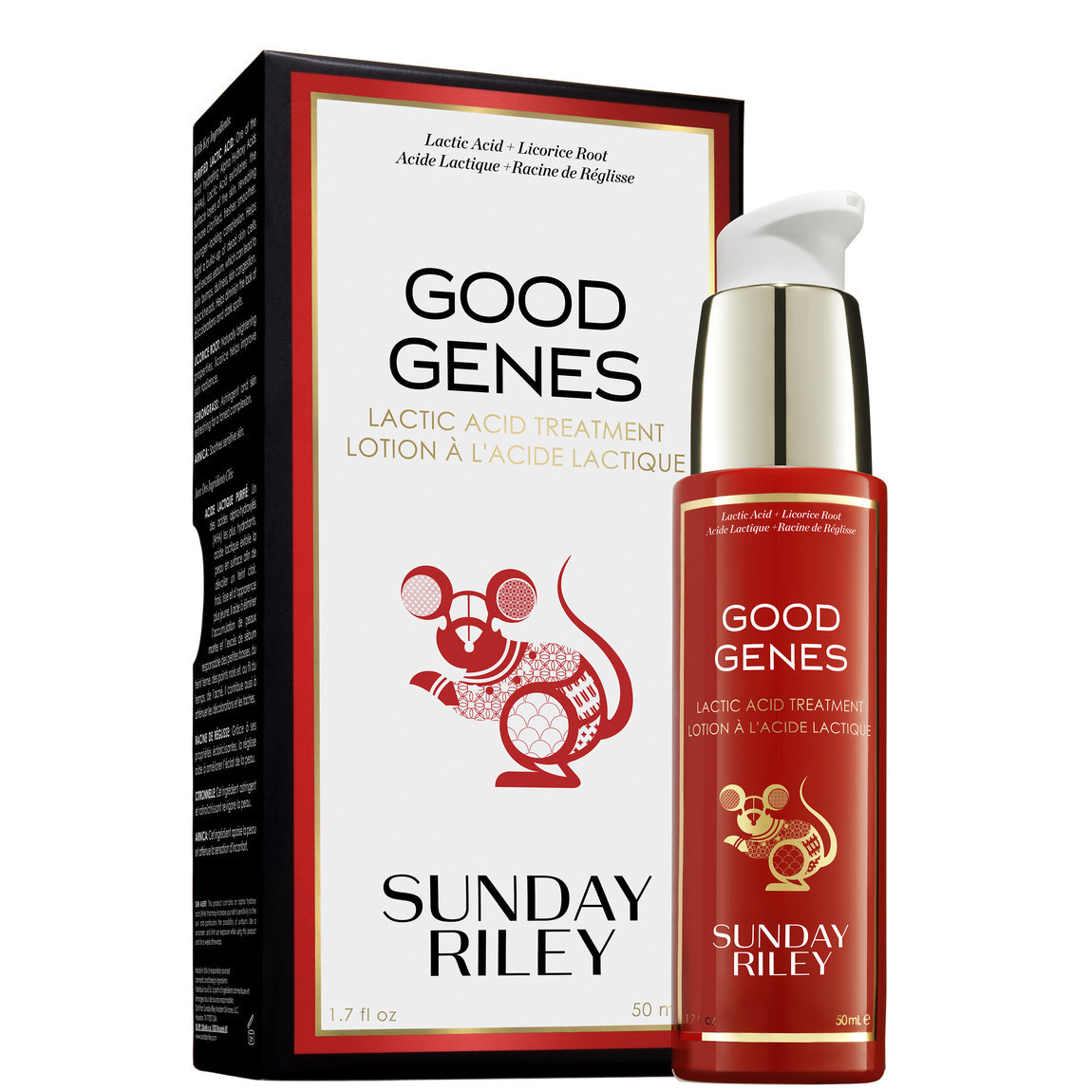 Sunday Riley Good Genes All-In-One Lactic Acid Treatment Lunar New Year 50 ml product swatch.