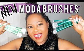 NEW MODA BRUSHES: RENEW AND CRACKLE KITS