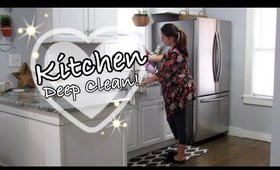 Deep Clean with Me | KITHCEN CLEANING | Cleaning Motivation