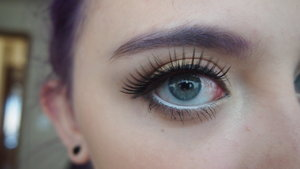 This was my second attempt at applying fake lashes! This look is perfect for the holidays when you are getting togther with family and looking for something special to wear!
