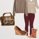 Fall Outfit oxblood