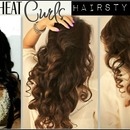 No-Heat Kim Kardashian Curls Hair Tutorial Video | Long Curly Hairstyles