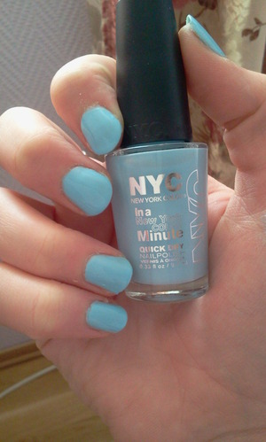 "NYC New York Colour in ""Raindrop"","