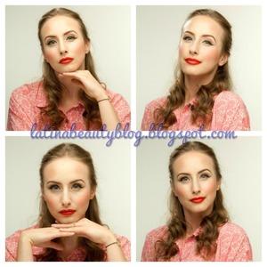 Pin Up/Retro 50s/Classic Beauty Makeup!