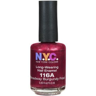 NYC New York Color Long Wearing Nail Enamel