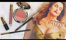 NEW MAC CAITLYN JENNER COLLECTION- Swatches, First Impression