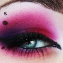 Dramatic Smokey Pink Eye