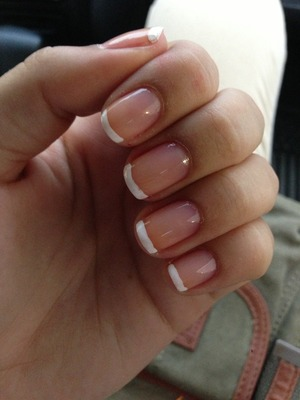 Every girl needs her French mani.