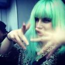 Neon hair color
