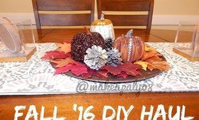 Fall DIY Haul feat. Dollar Tree & Walmart