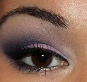 Purple Smokey Eye using Inglot Cosmetics