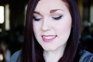 A makeup look using the Too Faced Sweet Indulgences palette.