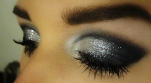 A close of of the eyes on my different kind of Burlesque inspired makeup!   More on this look: http://makeupisart.blogg.se/2011/november/makeupisart-goes-burlesque.html Like me on Facebook! http://www.facebook.com/pages/Makeup-Is-Art/455624517797347