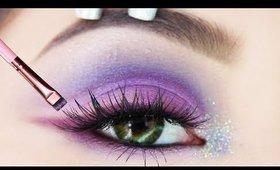 How to Turn ANY Eyeshadow Into Eyeliner Tutorial   DIY EYELINER HACK