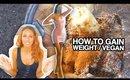 """vegan """"fat"""" shake - how to gain weight"""