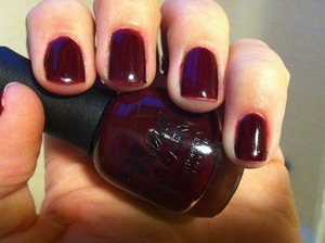 Nina ultra pro, available at Sally beauty. Love struck is beautiful!  2 coats of jelly love!  The brush nearly covers my entire nail in one swipe with just enough pressure to spread the brush. Absolutely love my Nina colors. So many jellies in true or collections