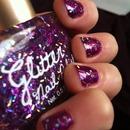 glitter nail polish!