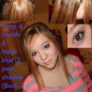 Back 2 school teenager hair and makeup