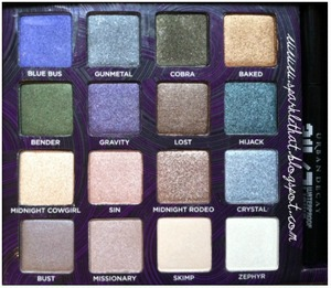 Urban Decay Book of Shadows IV  http://sparklethat.blogspot.com/2011/12/urban-decay-book-of-shadows-iv-swatches.html