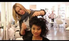 How to: Texturized Curls with Oribe Products