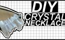 DIY CRYSTAL POINT NECKLACE