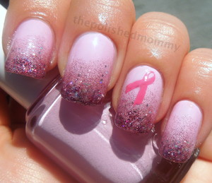 Don't forget ladies this month is about getting yourself checked to make sure everything is ok!! more pics and details on my blog: http://www.thepolishedmommy.com/2012/10/go-pink-wednesday.html