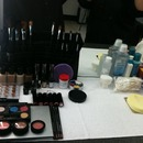 My makeup station for school