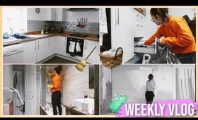 FULL HOUSE CLEAN + DECLUTTER 🧼🧹 | WEEKLY VLOG 📸