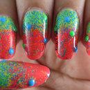 Neon Glitter Gradient