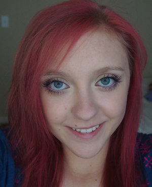 As my hair faded it turned into this pinkish color. It was very unique and cute.