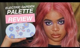 Valfre Electric Garden Palette Review + Euphoria Look (how original)