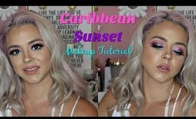 Caribbean Sunset Makeup Tutorial| Beauty by Pinky