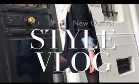 2 Winter Outfit Ideas & A Fashion Haul | STYLE VLOG WEEK 2