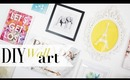 DIY Creative Colorful Wall Art by Anneorshine