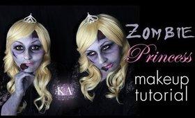 Zombie Princess Halloween Makeup Tutorial