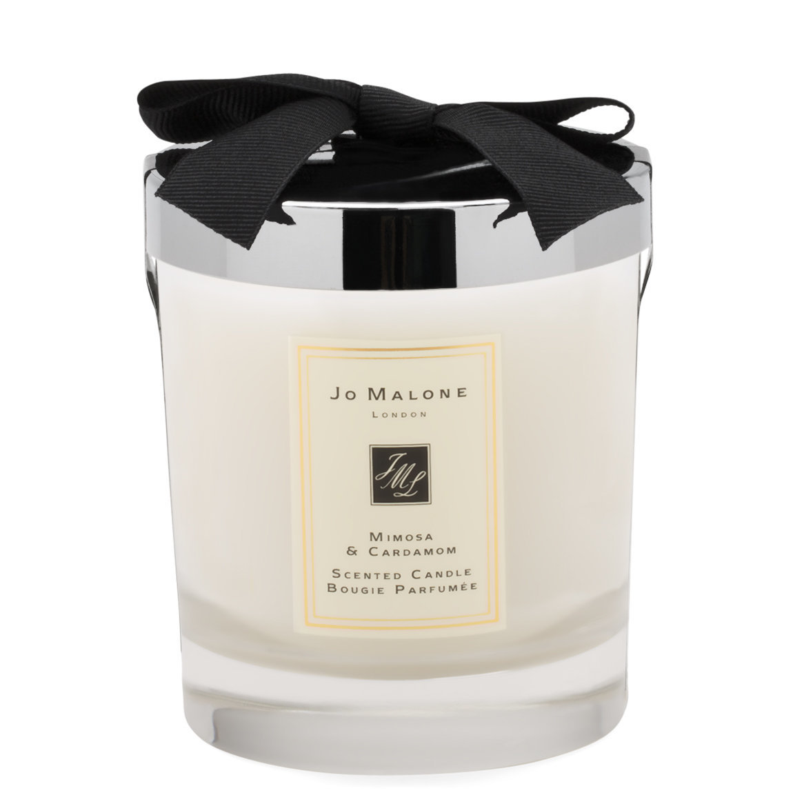 Jo Malone London Mimosa & Cardamom Scented Candle product swatch.