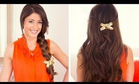 DIY Sequin Hair Bow