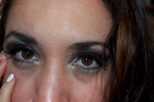 My first attempt of Glossy Eyes-GGF.....need to practice more :)