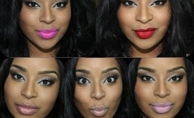 My MAC lipsticks with lip swatches - featuring Candy Yum Yum