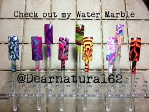 Check out my water marble on YouTube at Dearnatural62