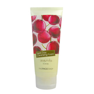 The Face Shop Herb Day Cleansing Foam - Clarifying Acerola