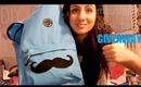 DIY: Moustache Back pack