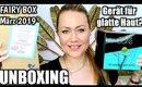 UNBOXING Fairy Box März 2019 & SMOOTHSKIN BARE | Nie mehr rasieren?