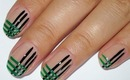 Plaid Nail Art Design