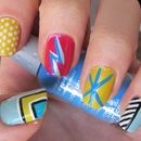 KAPOW! Graphic Inspired Nails! ♥♥