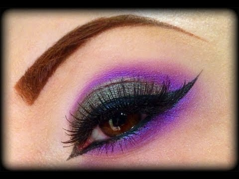 Sexy Duochrome Arabic Peacock - Low Cost Make Up Tutorial ...